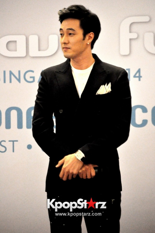 "Popular Korean Drama ""Master's Sun"" Actor So Ji Sub Reveals At Open Press Conference In Singapore, ""The Character I Played Is A Total Opposite Of Who I Am."" [PHOTOS]key=>5 count33"