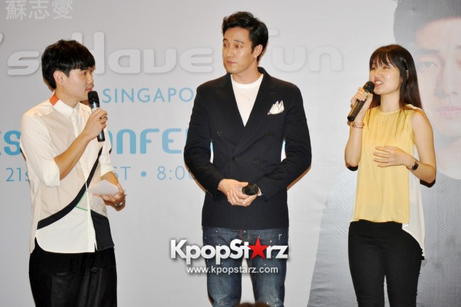 "Popular Korean Drama ""Master's Sun"" Actor So Ji Sub Reveals At Open Press Conference In Singapore, ""The Character I Played Is A Total Opposite Of Who I Am."" [PHOTOS]key=>12 count33"