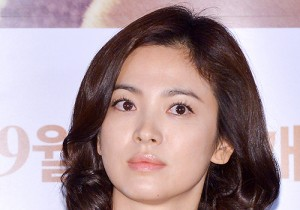 Song Hye Kyo at the Press Conference of Upcoimg Movie 'My Brillian Life [My Palpitating Life]'