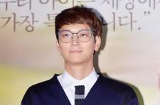 Kang Dong Won at the Press Conference of Upcoimg Movie 'My Brillian Life [My Palpitating Life]'