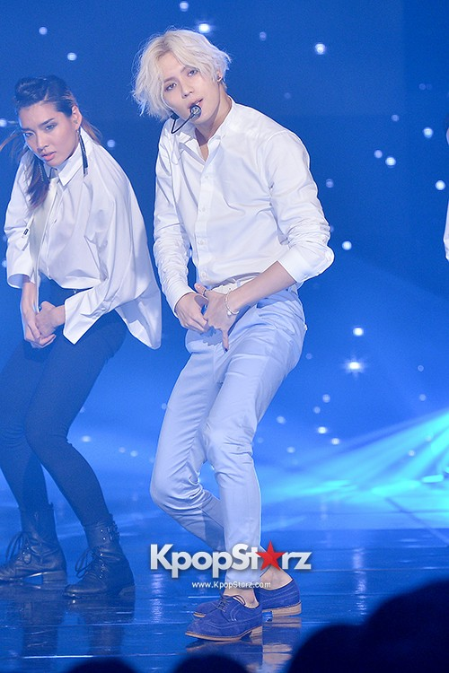 SHINee's Taemin [Pretty Boy + Ace + Danger] at MBC Music Show Championkey=>17 count36