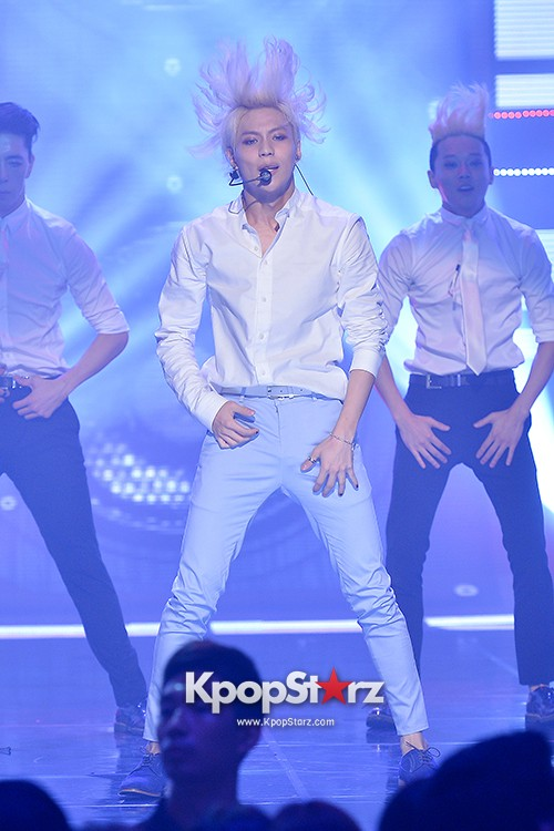 SHINee's Taemin [Pretty Boy + Ace + Danger] at MBC Music Show Championkey=>32 count36