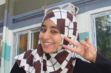 Girls' Generation's Algerian Fan Page administrator Afra Bourouba
