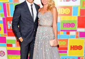The glamest of glams! The couple flaunt their polished look at the HBO post Emmy party.