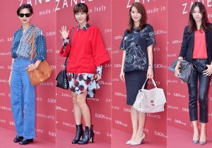Kim Na Young, Park Han Byul, Shin Min Ah and Han Hye Jin Attend Zanellato Launching Party