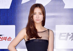 Shin Se Kyung at a Press Conference of Upcoming Movie 'Tazza 2'