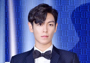 Big Bang's T.O.P at a Press Conference of Upcoming Movie 'Tazza 2'