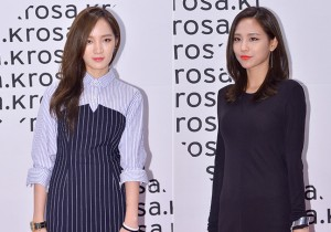 Miss A's Jia and Fei Attend ROSA.K Collaboration