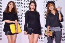Park Ji Yoon, Sunmi and So Yoo Jin Attend ROSA.K Collaboration