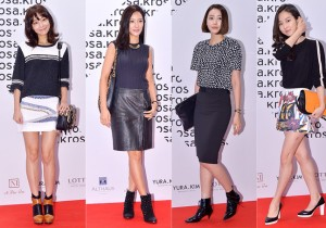 Shin So Yool, Wang Bit Na, Wang Ji Hye and Ha Yeon Joo Attend ROSA.K Collaboration