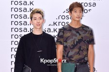 2AM's Jo Kwon and Jung Jinwoon Attend ROSA.K Collaboration