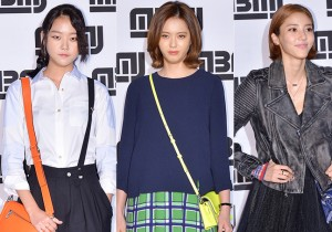 Kang Seung Hyun, Go Ara and Son Dam Bi at Marc by Marc Jacobs 2014 Launching Event