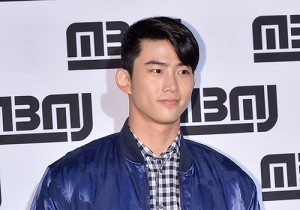 2PM's Ok Taecyeon at Marc by Marc Jacobs 2014 Launching Event