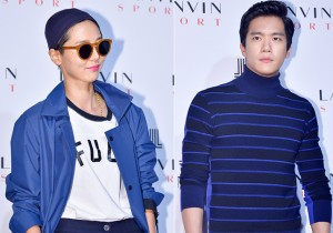 Kim Na Young and Ha Ha Seok Jin Attend LANVIN Sports Launching Event