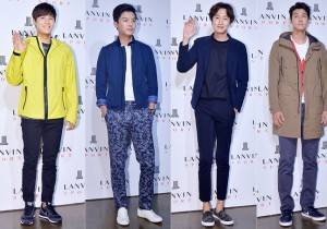 Dong Joon, Yeon Woo Jin, Lee Kwang Soo and Lee Ki Woo Attend LANVIN Sports Launching Event