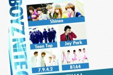 Hottest K-Pop Male Artists SHINee, Teen Top, Jay Park, B1A4, and 7.9.4.2 to Attend Boyz Nite Out in Singapore