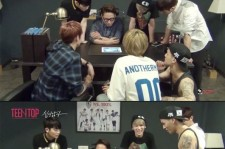 yoon jong shin impressed by teen top's new song