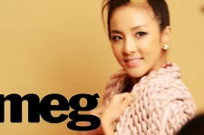 Behind the Scenes: Sandara Park for Meg Magazine July 2014