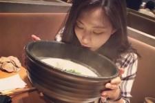 miss a fei huge bowl of noodles