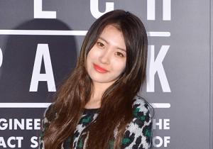 Sunmi Attends Nike Vogue Collaboration Runway Show