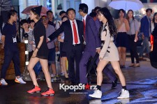Spica's Juhyun and Bohyung Attend Nike Vogue Collaboration Runway Show