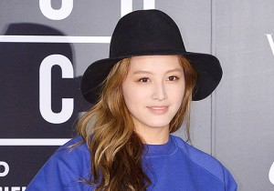 Rainbow's Jae Kyung Attends Nike Vogue Collaboration Runway Show
