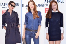 Kim Na Young, Choi Yeo Jin and Hong Soo Hyun Attend UNIQLO 2014 F/W 'INES DE LA FRESSANGE' Presentation
