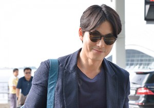 Jung Woo Sung at ICN Airport Heading to Toronto