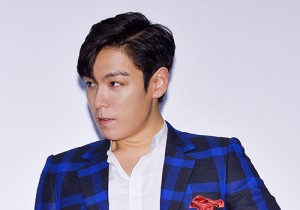 T.O.P Attends Tazza 2 Stage Greeting Event