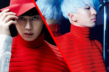 Taeyang and Heechul in J.W. Anderson