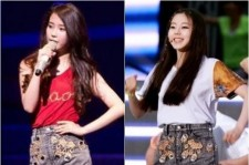 IU and Wonder Girls' Sohee Wears The Same Shorts! Who Wore It Better?