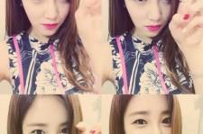 choi hee cute selfie
