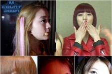 Close up photos of Wonder Girls posted on M Countdown Twitter
