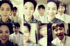 yang yoseob yong junhyung selfie time