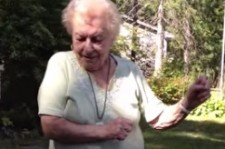 Dancing 88 year old Nana