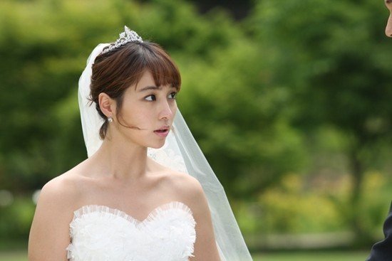 'Big' Lee Min Jung in Wedding Dress, Shining Beautykey=>0 count2