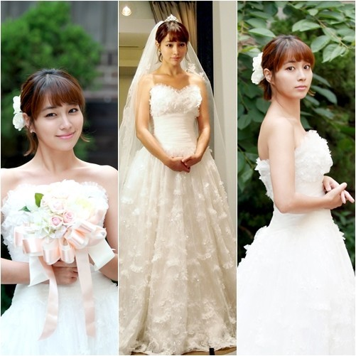'Big' Lee Min Jung in Wedding Dress, Shining Beautykey=>1 count2