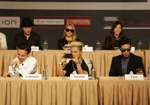YG Entertainment Artists Promote Samsung At YG Family Press Conference In Singapore [PHOTOS]