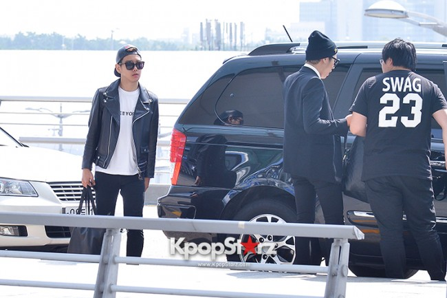 BlockB at Incheon Airport heading to Russia for Fanmeeting Showcase key=>1 count29