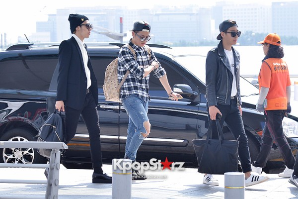BlockB at Incheon Airport heading to Russia for Fanmeeting Showcase key=>3 count29