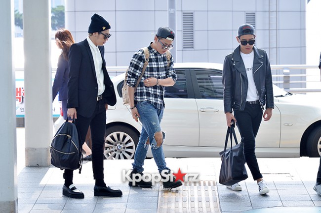 BlockB at Incheon Airport heading to Russia for Fanmeeting Showcase key=>4 count29