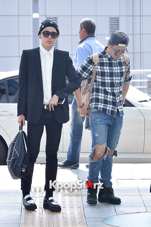 BlockB at Incheon Airport heading to Russia for Fanmeeting Showcase key=>5 count29