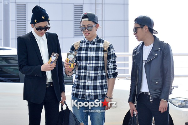 BlockB at Incheon Airport heading to Russia for Fanmeeting Showcase key=>8 count29