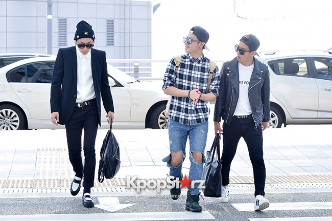 BlockB at Incheon Airport heading to Russia for Fanmeeting Showcase key=>10 count29