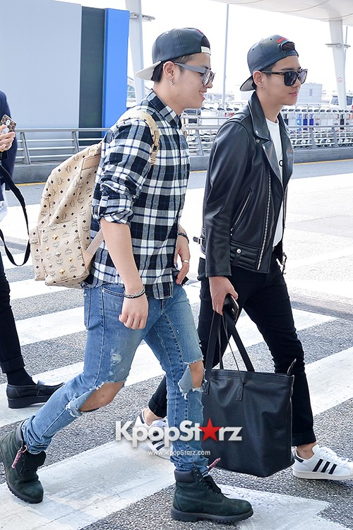BlockB at Incheon Airport heading to Russia for Fanmeeting Showcase key=>15 count29