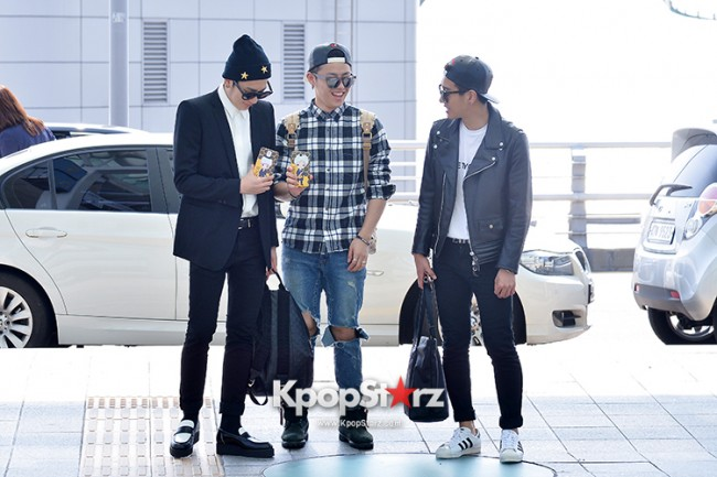 BlockB at Incheon Airport heading to Russia for Fanmeeting Showcase key=>16 count29