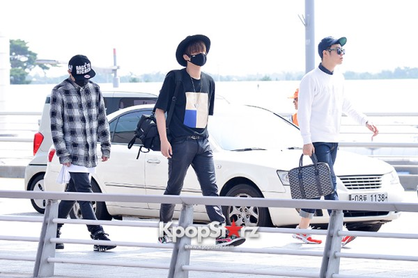 BlockB at Incheon Airport heading to Russia for Fanmeeting Showcase key=>17 count29
