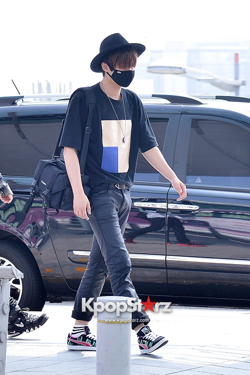 BlockB at Incheon Airport heading to Russia for Fanmeeting Showcase key=>18 count29