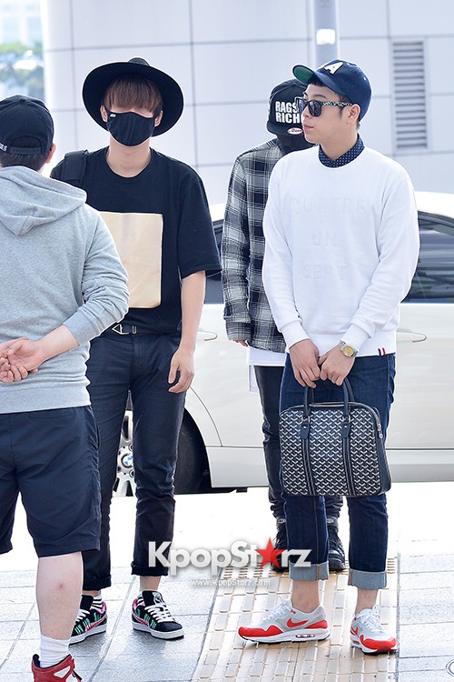 BlockB at Incheon Airport heading to Russia for Fanmeeting Showcase key=>19 count29