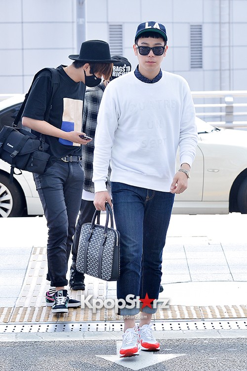 BlockB at Incheon Airport heading to Russia for Fanmeeting Showcase key=>20 count29